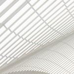 futuristisch treinstation door Calatrava